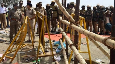 7 dead in temple stampede at TN's Tiruchirappali