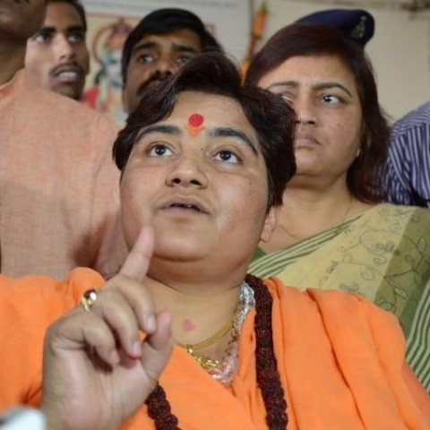 Proud of Babri Masjid demolition, says Pragya Thakur; EC issues notice