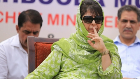 Jammu and Kashmir: In her hometown, a few people turn up in Mehbooba Mufti's rally