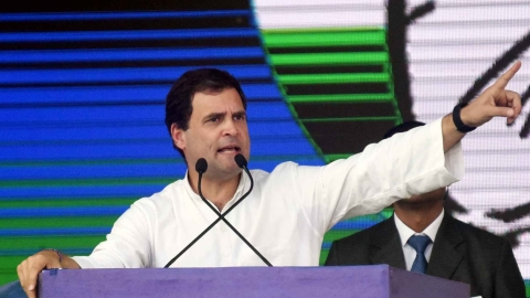 Rahul Gandhi: We'll fill 22 lakh government vacancies