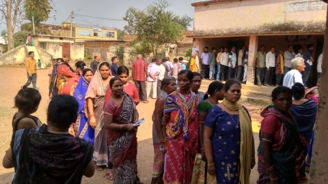Lok Sabha polls 2019: BJD has edge over BJP, Congress in third phase polls in Odisha