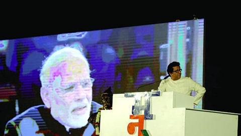 Rattled BJP and Shiv Sena at a loss to counter Raj Thackeray's LED blast