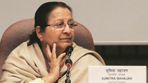 'Biased' outgoing Lok Sabha Speaker outlives her utility to the BJP
