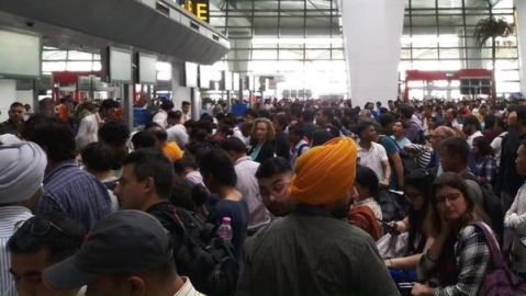 International flights delayed as immigration system server faces technical glitches at Delhi airport