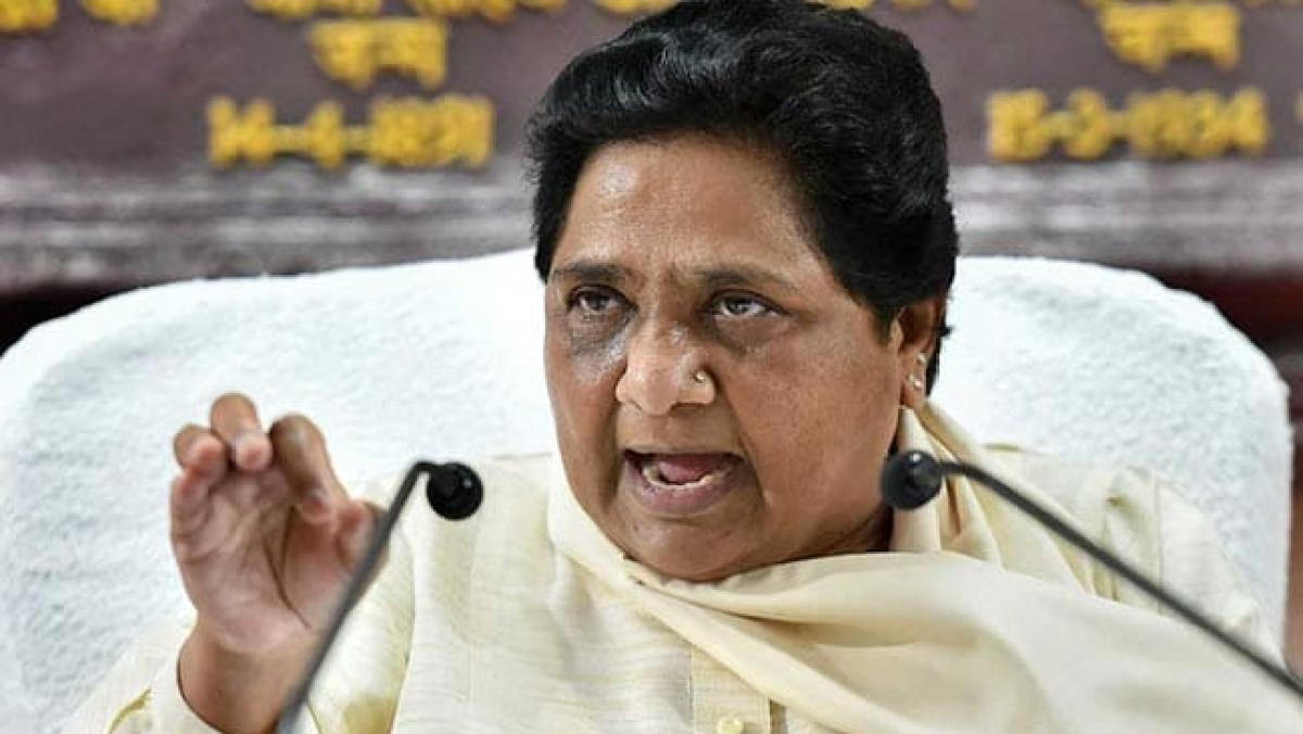 BSP chief Mayawati (social media)