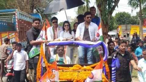 Row over Bangladeshi actor campaigning for TMC in West Bengal, BJP files complaint