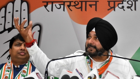 Are hunger, poverty PM Modi's nationalism, asks Navjot Singh Sidhu