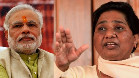 BSP chief Mayawati gives a scathing response to PM Modi's 'crocodile tears' remark