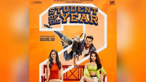 'Student of the Year 2': A splashy bore