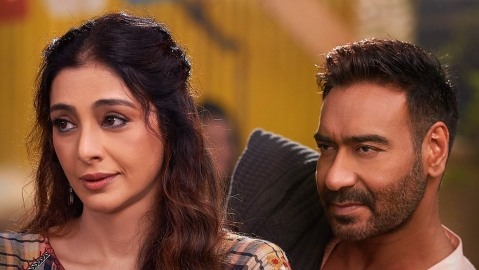 Tabu with Ajay Devgn in her next 'De De Pyaar De' (Twitter)