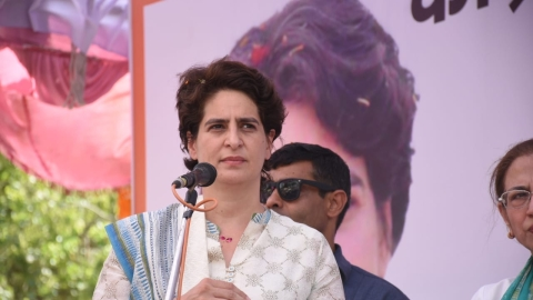 Priyanka Gandhi: For taking good catch, important to keep eyes on ball, otherwise blame gravity or maths