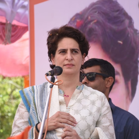 Congress General Secretary (Uttar Pradesh East) Priyanka Gandhi Vadra