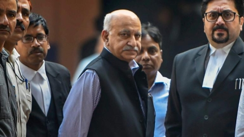 #MeToo: M J Akbar records statement before Delhi court, gets cross examined by Ramani's counsel
