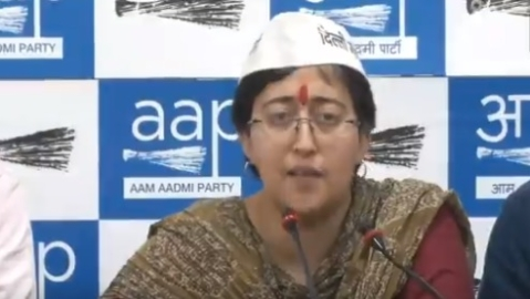 Atishi charges BJP with distributing obscene pamphlets against her, saffron party denies it