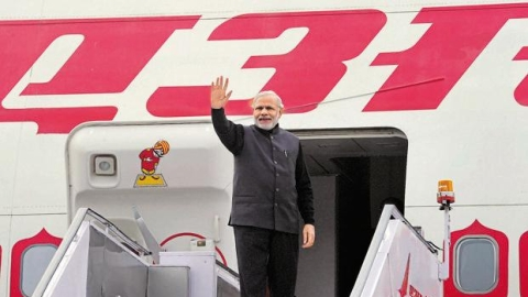 PM Modi, council of ministers incurred ₹393 cr expenditure on foreign, domestic travel in 5 years