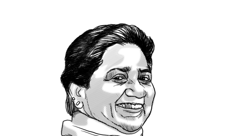 Mellowed, Mayawati bides her time to take a shot at the PM's office