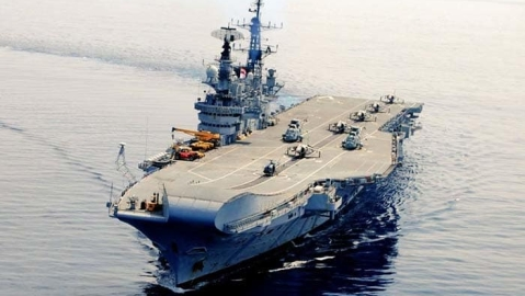 A picnic on INS Viraat? Sujata Anandan recalls night she spent on the aircraft carrier