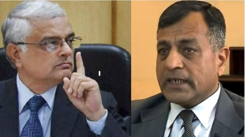 Former CEC O.P. Rawat and Election Commissioner Ashok Lavasa