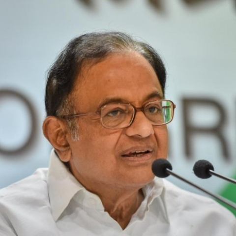 A file photo of P Chidambaram