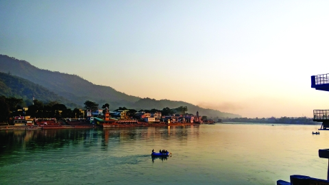 Can a book tell history of Ganga?