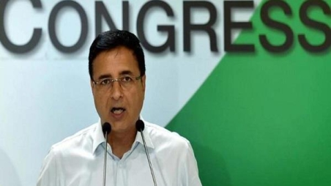 Congress Communications In-charge Randeep Surjewala (File Photo- Twitter)