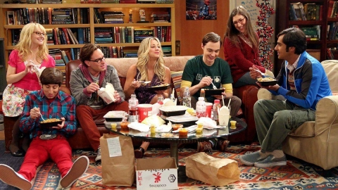 'The Big Bang Theory' ends on emotional note