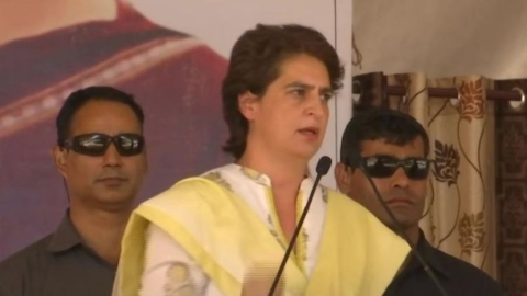 Modi's truth has now come on people's 'radar', says Priyanka in Bathinda, talks about Punjab's youth, farmers