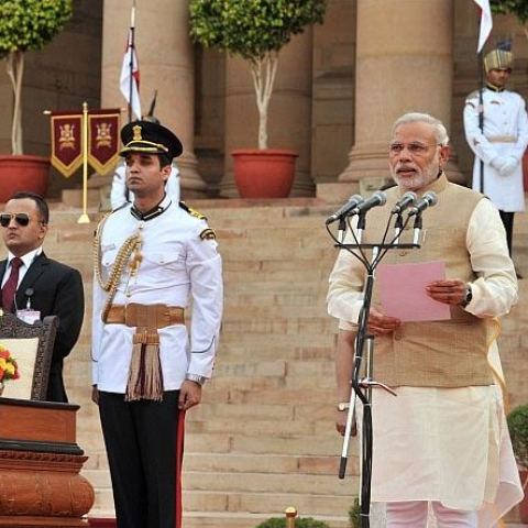 Modi to take oath with new ministers on May 30