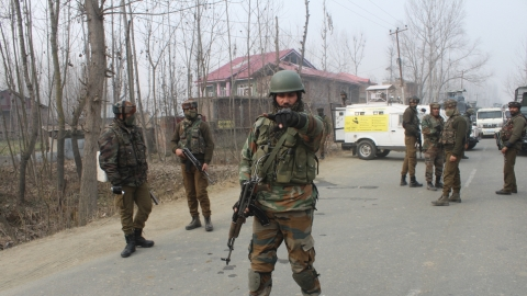 Three Jaish militants including top commander among 5 killed in J&K gunfight