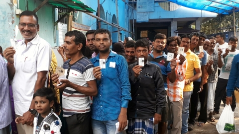 Lok Sabha Elections 2019 phase 5: 61.72% voting, EVM snags, violence and tension in WB, Kashmir reported