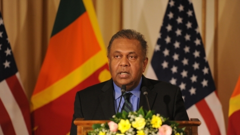 Sri Lankan Finance Minister Mangala Samaraweera (IANS Photo-file)