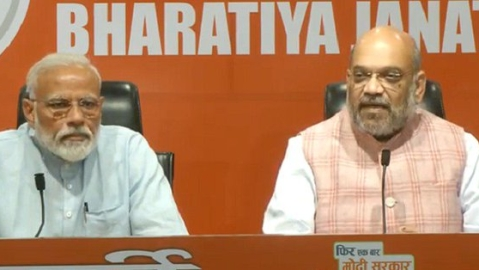Rahul 'congratulates' Modi on first 'press conference', says next time Shah may allow him to answer questions