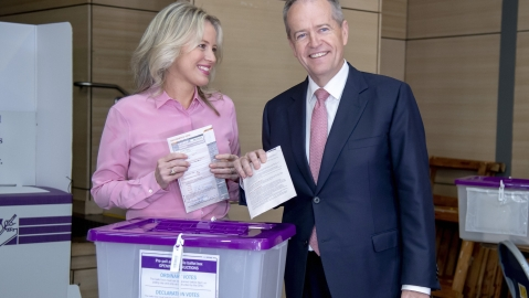 Voting under way in climate-dominated Aussie election