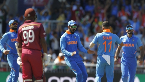 India vs West Indies LIVE: India trounce West Indies by 125 runs