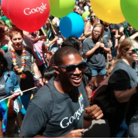 Google says Pride protest is a violation of its code of conduct