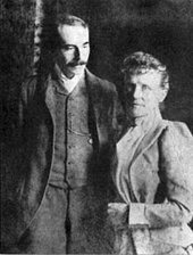 Mr and Mrs. Elgar