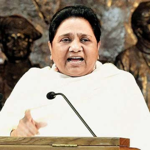 BSP supremo Mayawati (file photo)