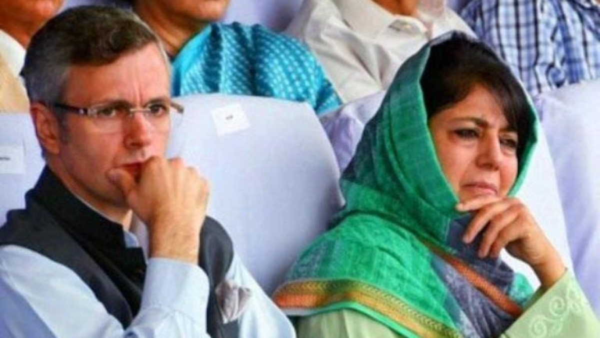 Mehbooba Mufti, Omar Abdullah and two others booked under Public Safety Act