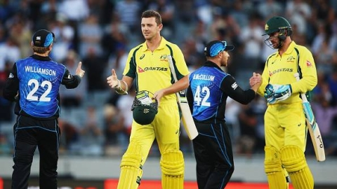 In roaring form, Australia is favourites before their next match against New Zealand