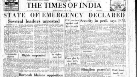 Media musings: Those who 'fought' against Emergency fail to uphold freedom