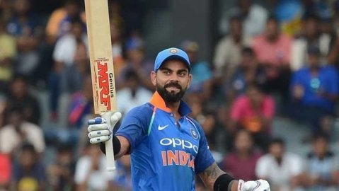 Kohli becomes fastest to score 20000 international runs