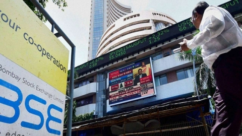 US Federal Reserve indicates rate cut, Sensex goes up