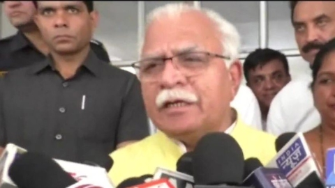 Haryana CM Khattar says, now we can bring Kashmiri girls for marriage at Beti Bachao-Beti Padhao function