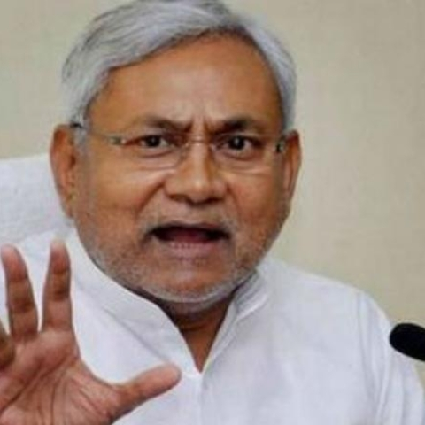 Bihar Chief Minister and JD(U) president Nitish Kumar.