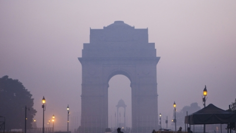 Air quality in Delhi slips into 'severe' category
