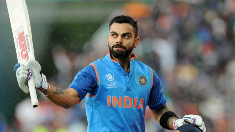 Indian cricket team captain Virat Kohli.