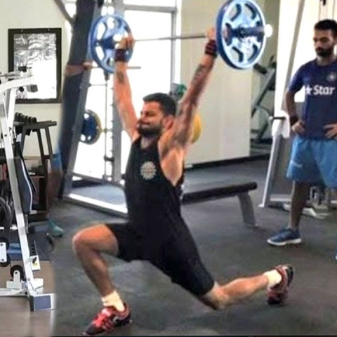 WATCH| Virat Kohli sweats it out ahead of West Indies clash