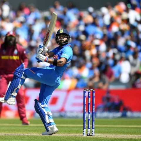 India vs West Indies LIVE: Kohli goes for 72  off 82 balls