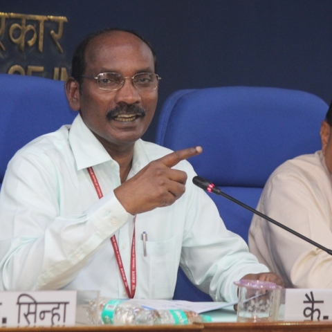 Indian Space Research Organisation (ISRO) Chairman K. Sivan (IANS)
