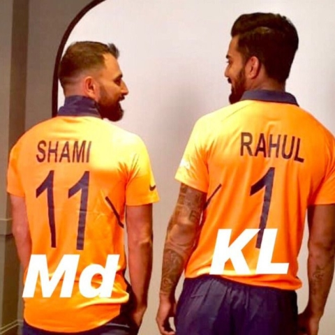 World Cup 2019: Orange is new colour for Team India's jersey ahead of their clash with England